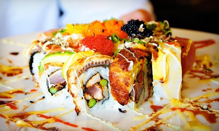Nara Sushi - Northwest Virginia Beach: $12 for $25 Worth of Sushi and Japanese Fare at Nara Sushi in Virginia Beach