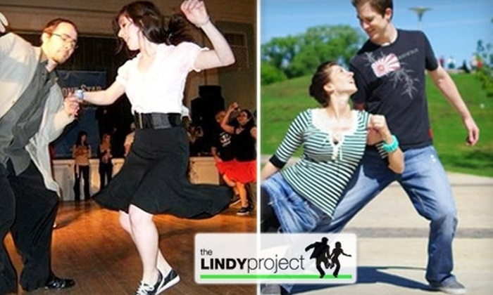 The Lindy Project - Westgate: $20 for One Month of Swing Dance Lessons with The Lindy Project ($45 Value)