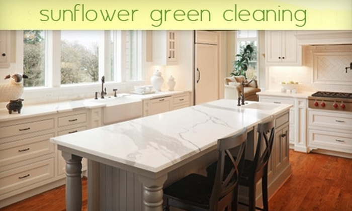 Sunflower Green Cleaning - Fort Greene: $45 for Up to Three Hours of Home Cleaning from Sunflower Green Cleaning ($105 Value)