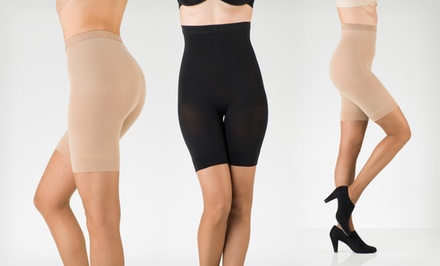 2-Pack of Berkshire Waist or High-Waist to Mid-Thigh Shapewear
