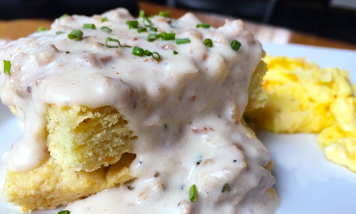 The Oak - Northwest Raleigh: Sunday Brunch for Two or Four at The Oak (40% Off)