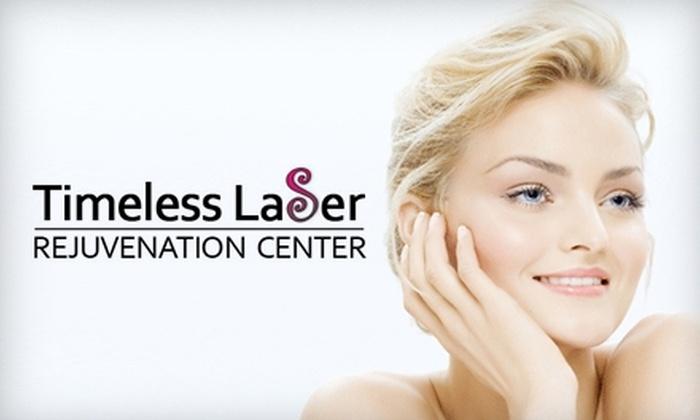 Timeless Laser Rejuvenation Center - Osceola Corporate Center: Laser Skin Treatments at Timeless Laser Rejuvenation Center. Choose from Three Options.