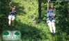 Dagaz Acres Leadership Center and Zipline Adventure Course - Posey: $40 for a Guided Zip-Line Tour at Dagaz Acres Leadership Center and Zipline Adventure Course in Rising Sun