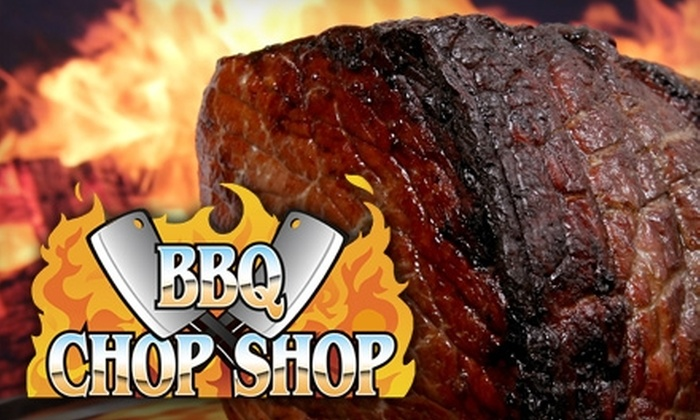 BBQ Chop Shop - Oklahoma City: $10 for $20 Worth of Delicious Barbecue and More at BBQ Chop Shop