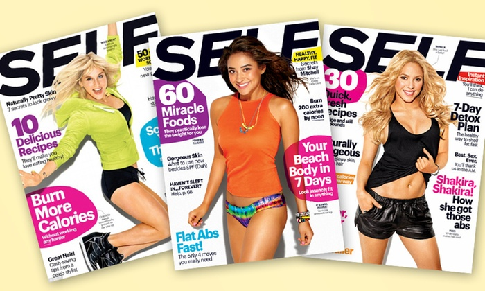 Self Magazine Subscription: $10 for a 1-Year Self Magazine Subscription ($19.99 List Price). Free Shipping.