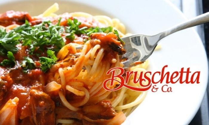 Bruschetta & Co. - Miami: $10 for $20 Worth of Northern Italian Fare at Bruschetta & Co. in Doral