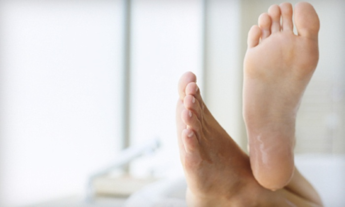 Kentner Podiatry - Multiple Locations: Two or Four Foot-Fungus Treatments at Kentner Podiatry (Up to 58% Off)