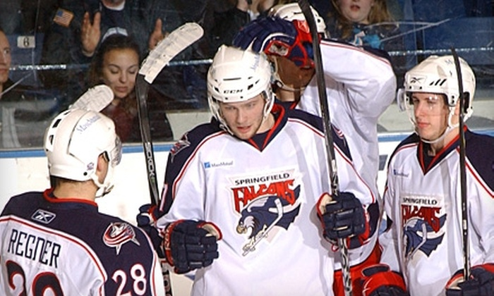 Springfield Falcons - Metro Center: $8 for One Ticket to Springfield Falcons Hockey Game on April 8 (Up to $17 Value)