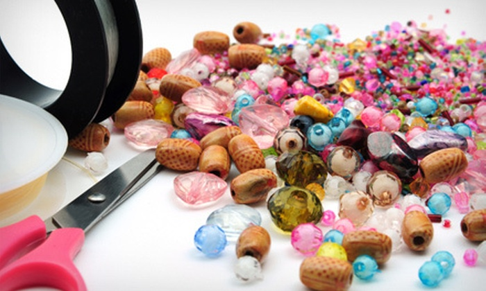 Bead Basics - Blaine Haven: One or Four Beading Classes with Wine and Hors d'Oeuvres or $15 for $30 Worth of Beads and Jewelry at Bead Basics