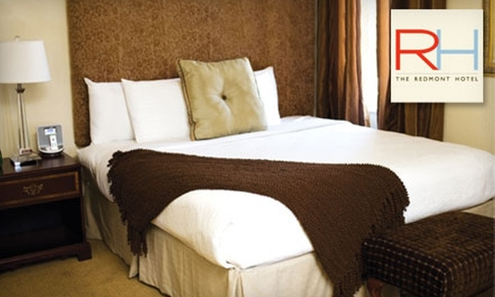 The Redmont Hotel - Central City: One-Night Romance Package at The Redmont Hotel in Birmingham. Two Options Available.