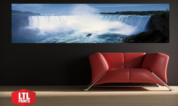 Larger Than Life Prints: $35 for a Panoramic Cityscape Wall Mural from Larger Than Life Prints ($84 Value)