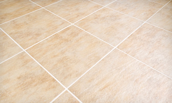 """""""The Rock"""" Hard Surface Cleaning & Restoration - Fort Worth: Tile and Grout Cleaning from """"The Rock"""" Hard Surface Cleaning & Restoration (Up to 75% Off). Two Options Available."""