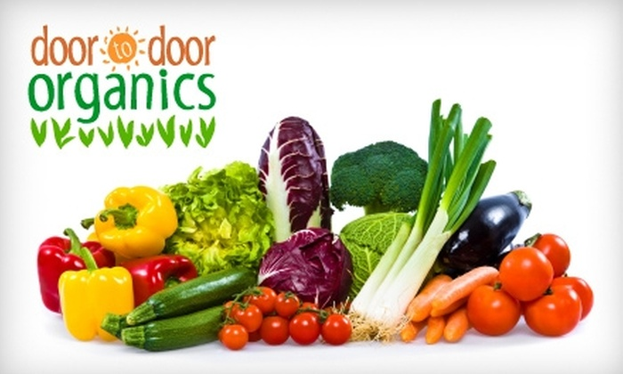 Door to Door Organics: $14 for Bitty Box of Organic Produce from Door to Door Organics ($27.31 Value)