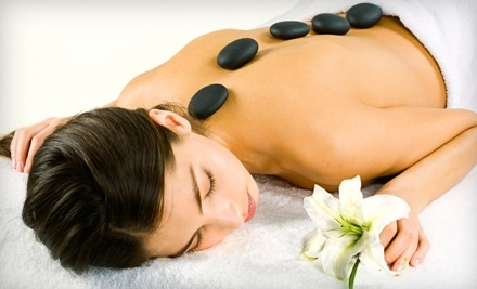 Hybrid Hair and Detox Spa: 30-Minute Hot Stone Massage and Pedicure - Hybrid Hair and Detox Spa in Kitchener