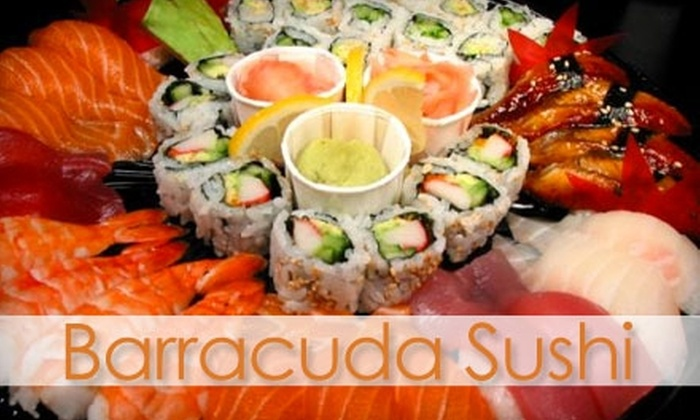 Barracuda Japanese Restaurant - Old Mountain View: $15 for $30 Worth of Japanese Fare and Drinks at Barracuda Japanese Restaurant in Mountain View