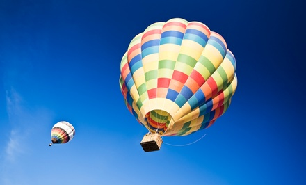 Hot Air Balloon Ride for One, Two, or Four from D & D Ballooning (Up to 61% Off)