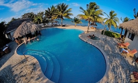 4- or 6-Night Stay for Two in an Ocean-View or Beachfront Room or 6-Night Beach and Jungle Package in Belize