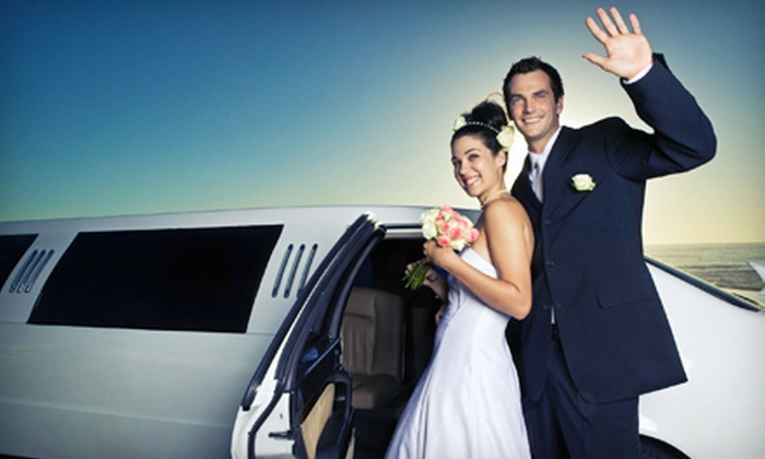 Harris Limousine - South Lowell: Wedding-Limousine Service from Harris Limousine (Half Off). Five Options Available.
