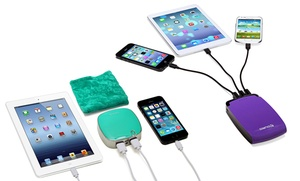 Aduro PowerUp 4000mAh, 5200mAh or 11,000mAh Portable Backup Battery : Aduro PowerUp 4000mAh, 5200mAh or 11,000mAh Portable Backup Battery