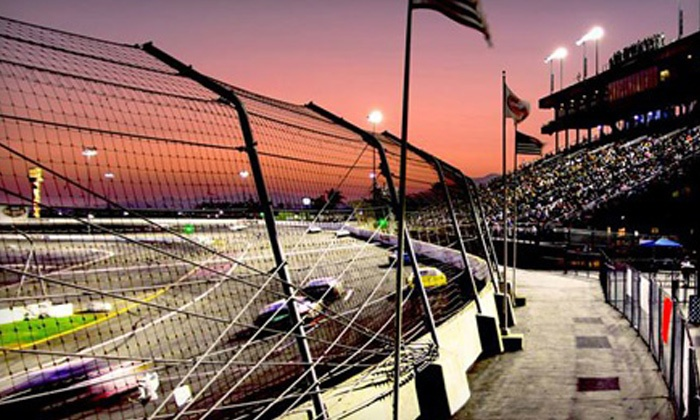 Irwindale Event Center - Irwindale: Saturday Night NASCAR Race with Meals and Go-Kart Races for Two or Four at Irwindale Event Center (Up to 64% Off)