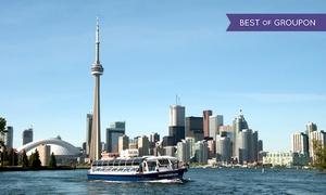 Toronto Harbour Tours: CC$12 for Boat Tour of Toronto Harbour and Islands from Toronto Harbour Tours (CC$29.32 Value)