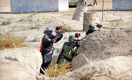 Paintball Package for 1 Person (a $55 value) - Jungle Island Paintball Park in Lake Elsinore