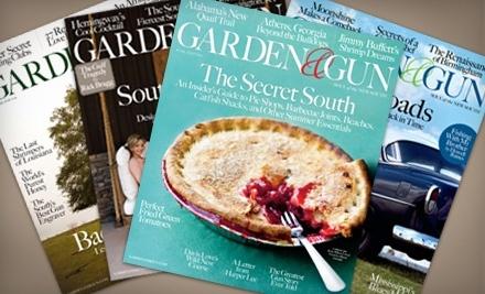 Garden and Gun Magazine -