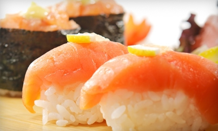 Thai & Sushi - East Atlanta: $10 for $22 Worth of Asian-Fusion Cuisine at Thai & Sushi