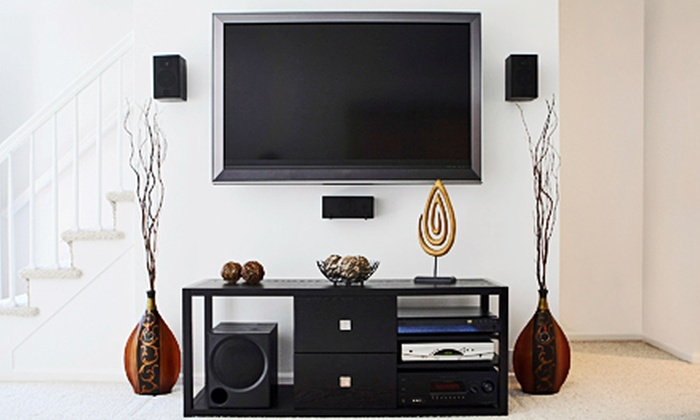 Lelch Inc. - Cedar Rapids / Iowa City: $189 for Flat-Screen TV Installation Package from Lelch Inc. ($389 Value)