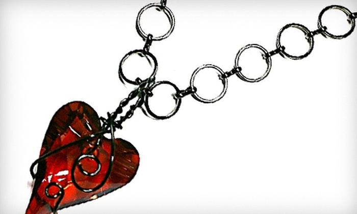 KaTonGiovi Designs - Mcmillan: Amore Magma Necklace or $50 for $100 Worth of Jewellery at KaTonGiovi Designs