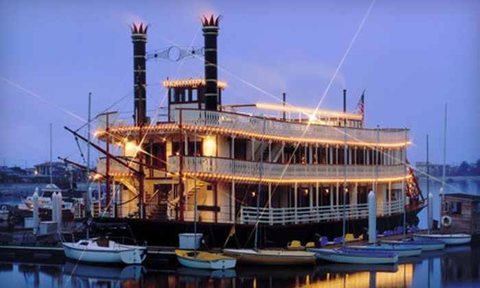 The Sternwheelers - Mission Beach: $10 for a Four-Hour Cinco de Mayo Kick-Off Party Cruise on May 4 from The Sternwheelers ($20 Value)