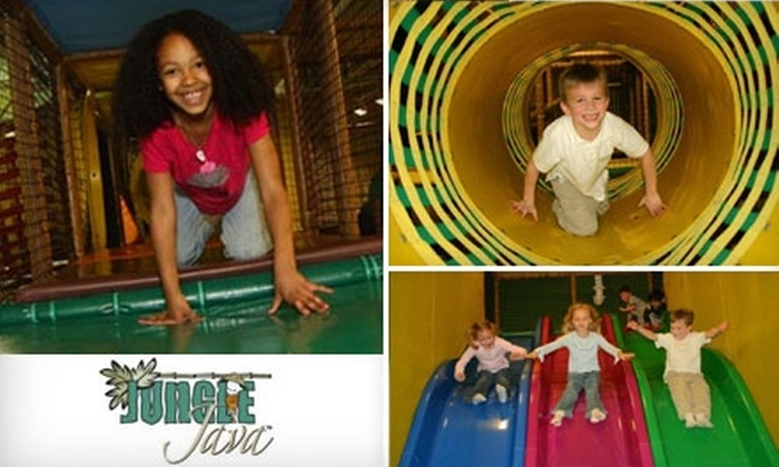 Jungle Java - Austin: $17 for Five Daily Passes to Jungle Java ($37.50 Value)
