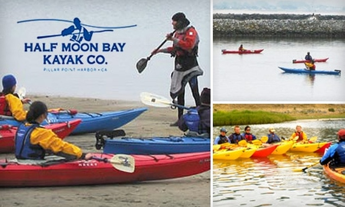 Half Moon Bay Kayak Co. - South Coastside: $20 for Two Hours in Single Kayak or One Hour in Double Kayak from Half Moon Bay Kayak Co.