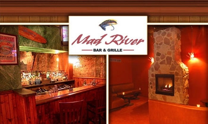 Mad River Bar & Grille - Center City East: $10 for $25 Worth of Drinks and Upscale Pub Fare at Mad River Bar & Grille