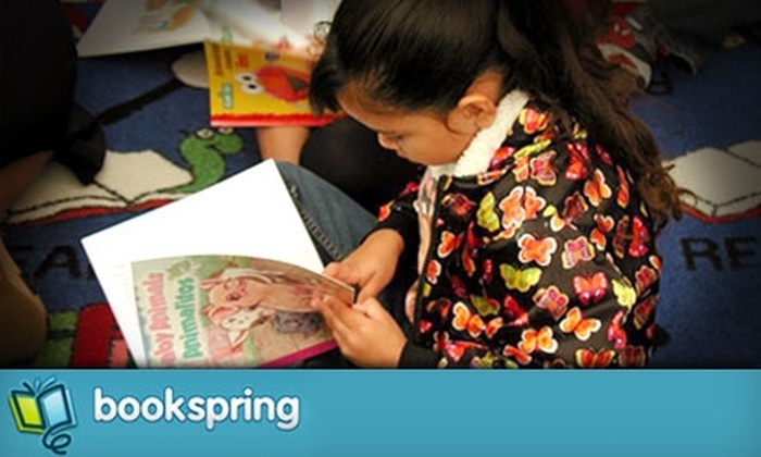 BookSpring: Donate $9 to Provide New Books For At Least One Classroom of Children From Low-Income Households Through BookSpring and Reading Is Fundamental