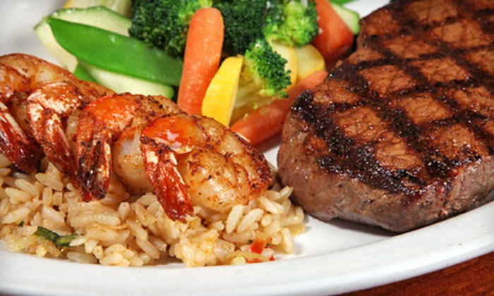 Santa Fe Cattle Co. - Multiple Locations: $10 for $20 Worth of Southwestern Steakhouse Fare at Santa Fe Cattle Co. Five Locations Available.