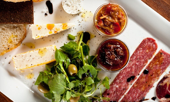 The Wine Loft  - Charlotte: $20 for $40 Worth of International Small Plates and Nonalcoholic Drinks at The Wine Loft