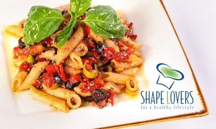 Shape Lovers - Miami: $20 for Three Days' Worth of Fresh, Healthy Lunch and Dinner Delivery from Shape Lovers
