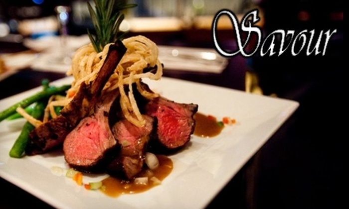 Savour - Adams Morgan: $20 for $40 Worth of Contemporary American Cuisine and Drinks at Savour Restaurant
