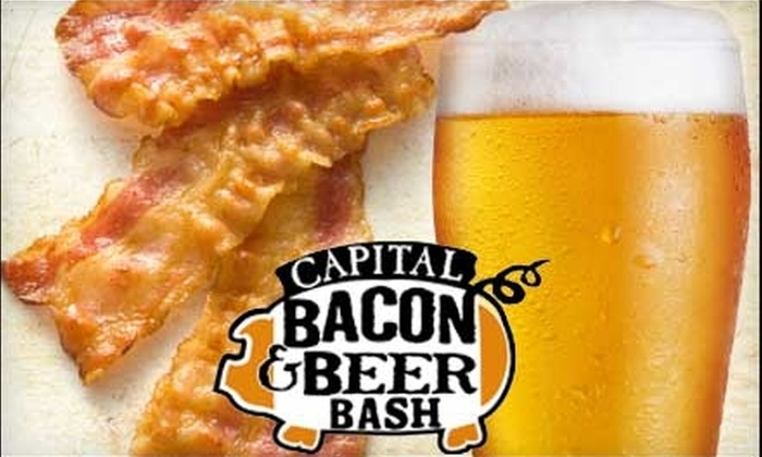 Captial Bacon & Beer Bash - Washington DC: $42 for One Admission to the Capital Bacon & Beer Bash ($85 Value)