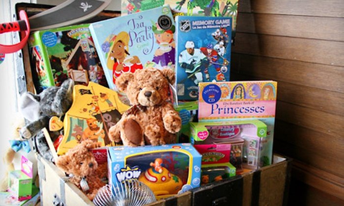 No Pirates Allowed! - Kitsilano: $10 for $20 Worth of Toys and Games at No Pirates Allowed!