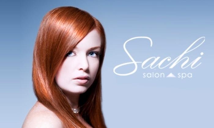 Sachi Salon & Spa - Downtown Scottsdale: $150 for a Brazilian Blowout Hair Treatment Plus 25% Off Additional Services at Sachi Salon & Spa ($350 Value)
