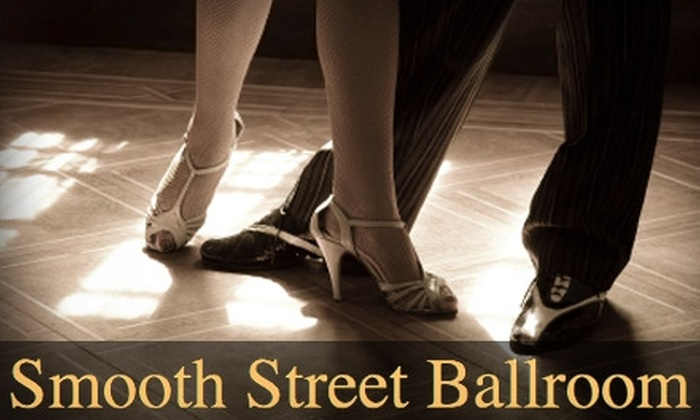 Smooth Street Ballroom - Multiple Locations: $19 for Two Half-Hour Private Dance Lessons at Smooth Street Ballroom ($98 Value)