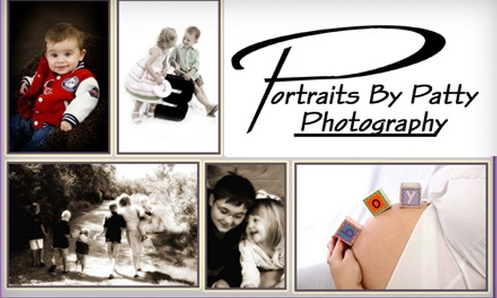 Portraits by Patty - Sioux Falls: $30 for a One-Hour Photo Session and Images from Portraits by Patty (Up to $70 Value)