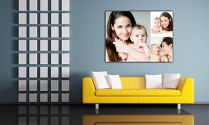 Grange Print: Personalised Canvas in Choice of Sizes from £2.95 (Up to 93% Off)
