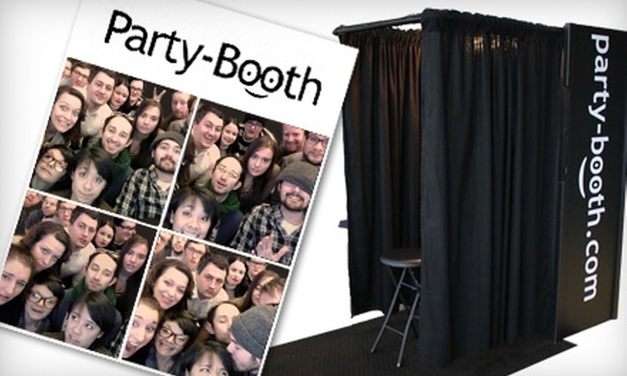 Party-Booth.com - Buffalo: $399 for Four-Hour Photo-Booth Rental from Party-Booth.com ($799 value)