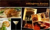 Kingston Station - Downtown: $15 for $35 Worth of Food & Drinks at Kingston Station