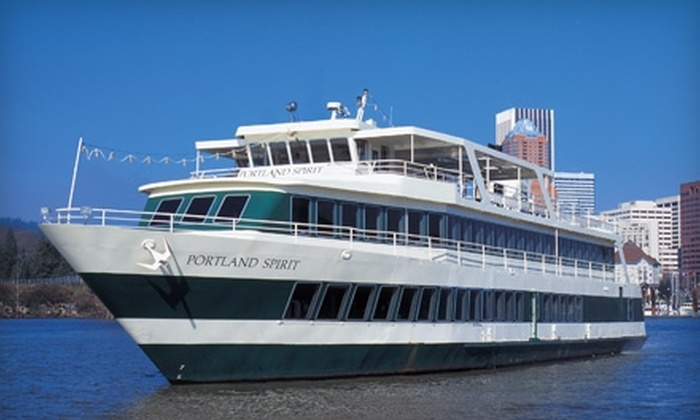 Portland Spirit - Downtown: $22 for Two Tickets to a Friday Early Escape Cruise from Portland Spirit ($44 value)