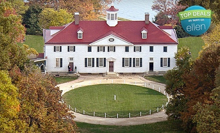 1 Youth Ticket (a $7 value) - George Washington's Historic Mount Vernon in Mount Vernon