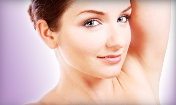Azure Dream Day Spa - Arlington: $220 for Five Laser Hair-Removal Sessions at Azure Dream Day Spa in Arlington (Up to $840 Value)